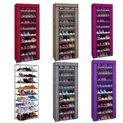 10 tier shoe rack shelf saving storage