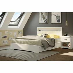 South Shore 10158 Basic Queen Platform Bed 60In With 2 Drawe