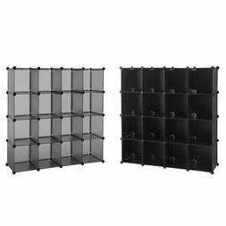 16-Cube Book Shelf Storage Shelves Closet Organizer Shelf Or