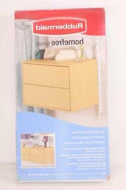 Rubbermaid 3e30 Configurations 2 Drawer Hanging Unit Maple