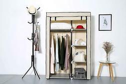 "63"" Portable Closet Storage Organizer High Quality Wardrobe"