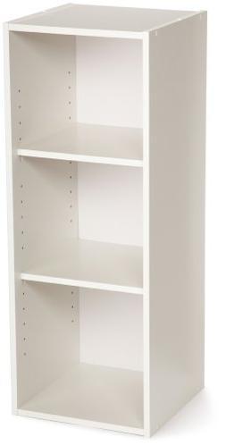 ClosetMaid 8987 Stackable 3-Shelf Organizer, White