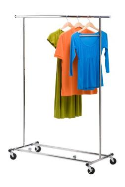 Honey-Can-Do GAR-01304 Collapsible Commercial Garment Rack w