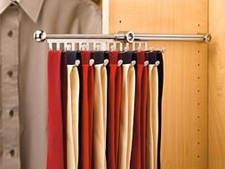Rev-A-Shelf - CTR-12-CR - 12 in. Chrome Pull-Out Tie/Scarf R