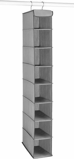 Whitmor Hanging Shoe Shelves - 8 Section - Closet Organizer
