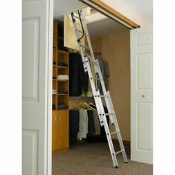 Werner AA1510 7 ft. - 9 ft. Compact Attic Ladder