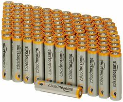 AmazonBasics AAA 1.5 Volt Performance Alkaline Batteries - P