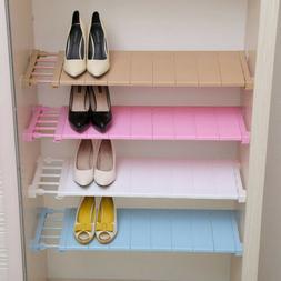 Adjustable Closet Organizer Storage Shelf Wall Mounted Space