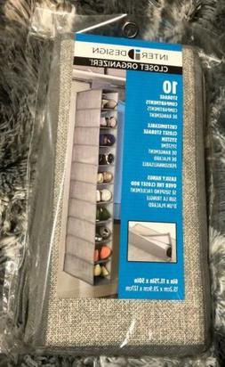 InterDesign Aldo Fabric Hanging Closet Storage Organizer - 1