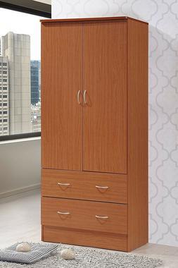 Armoire Wardrobe Closet Storage Cabinet Bedroom Clothes Orga