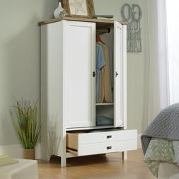 Wardrobe Cabinet Armoire Storage Closet Wood Bedroom Furnitu