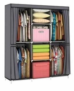 Back-to-school/Daily-SONGMICS 59 Inch Closet Organizer Wardr
