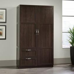 Bedroom Armoire Wooden Wardrobe Storage Cabinet Closet Organ