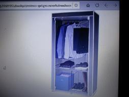 BNIB Sorbus Wardrobe Organizer/Portable Closet