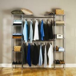 closet adjustable organizer storage rack wardrobe garment