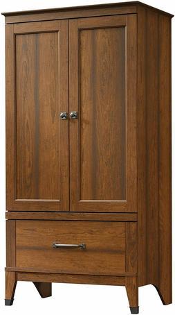 Closet Armoire Wooden Wardrobe Bedroom Clothes Storage Organ