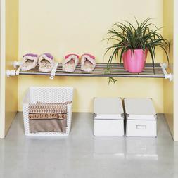 Closet Organizer Storage Shelf Wall Mounted Adjustable Kitch