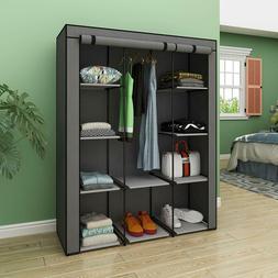 Closet Portable Wardrobe Bedroom Armoires Clothes Storage Ca