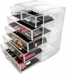 Sorbus Cosmetics Makeup and Jewelry Big Storage Display-Styl