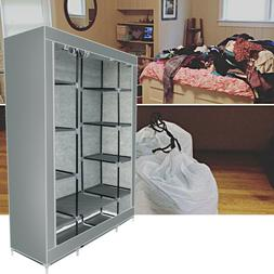 Easy Assembly Non-woven Clothing Sturdy Clothes Wardrobe Clo