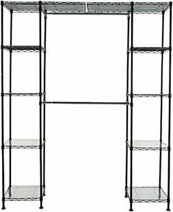 "AmazonBasics Expandable Closet Organizer - 14"" x 58"" Expands"