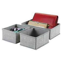 InterDesign Fabric Closet/Dresser Drawer Storage Organizer,