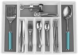 Sorbus Flatware Drawer Organizer, Expandable Cutlery Drawer