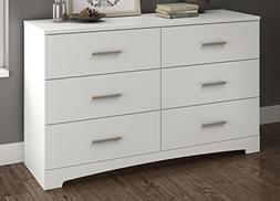 South Shore Gramercy 6-Drawer Double Dresser, Multiple Finis