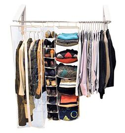 QuikCLOSET – 3 ft. to 5 ft. Folding Collapsible Triangular