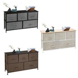 Heavy Duty 5 Drawer Dresser Storage Organizer Closet Removab
