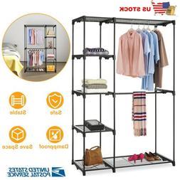 heavy duty closet system wardrobe shelves portable