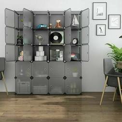 Home 20-Cube Wardrobe Cabinet Closet Clothes Storage Organiz