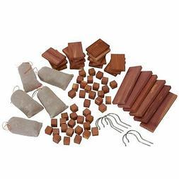 Household Essentials 67-pc. Cedar Closet Value Pack Brown