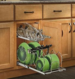 Kitchen Under Pot Pan Storage Pull Out Base Cabinet Cookware