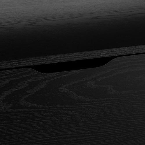 South 6-Drawer Black Oak