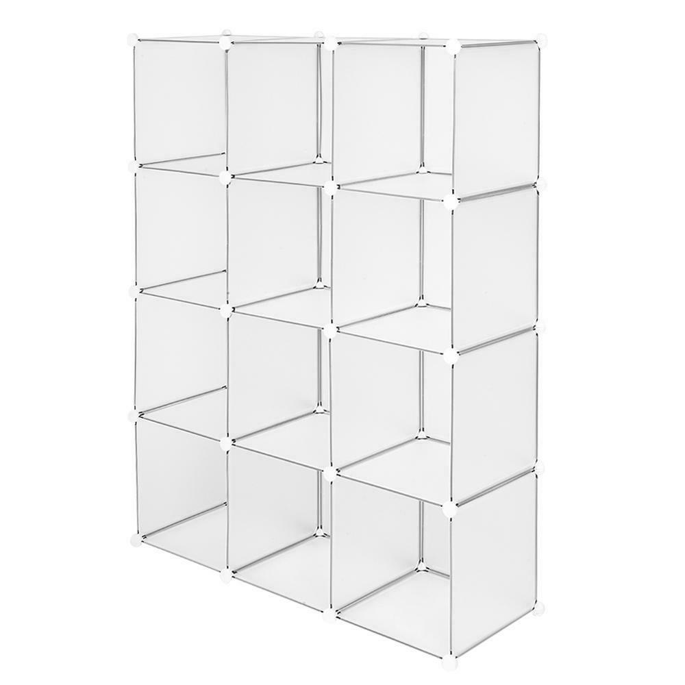 12-Cube Book Shelf Shelves Closet Cabinet