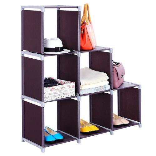 3 Closet Shelf Cube Storage US