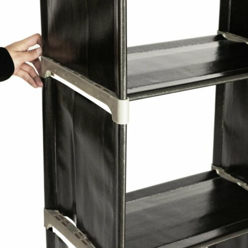3 Tier Closet Cube Cabinet Storage US