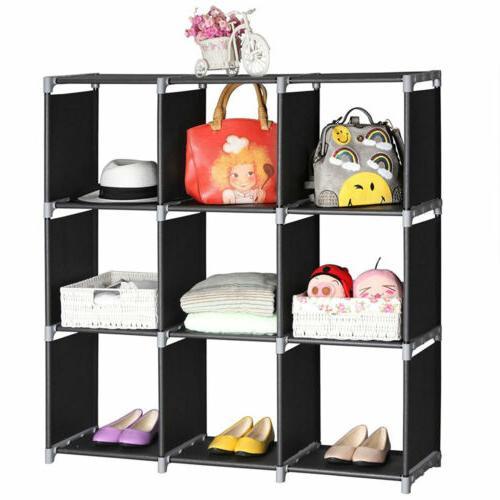 3 tier storage cube closet organizer shelf
