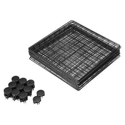 4-Cube Organizer Stackable Grid Wire DIY