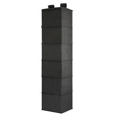 6-Shelf Organizer Clothing Socks Box Holder