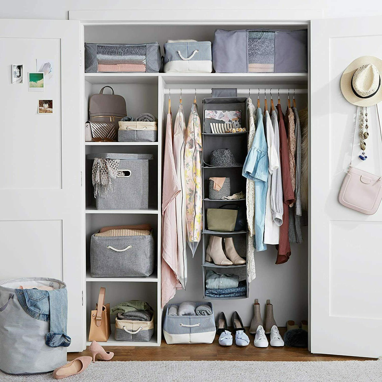 6-Tier Hanging Shelf Storage