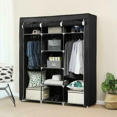 69 portable closet wardrobe clothes ample storage