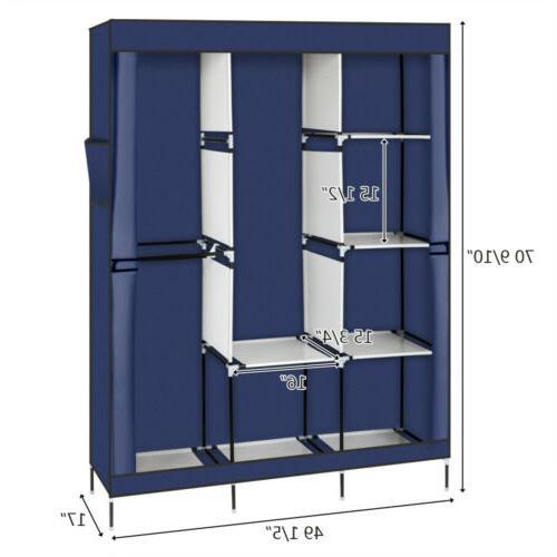 High Quality Portable Closet Wardrobe Clothes Rack