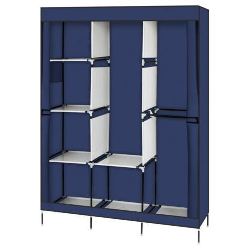 High Wardrobe Rack Storage Organizer