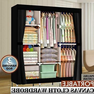 71 portable closet wardrobe clothes rack storage
