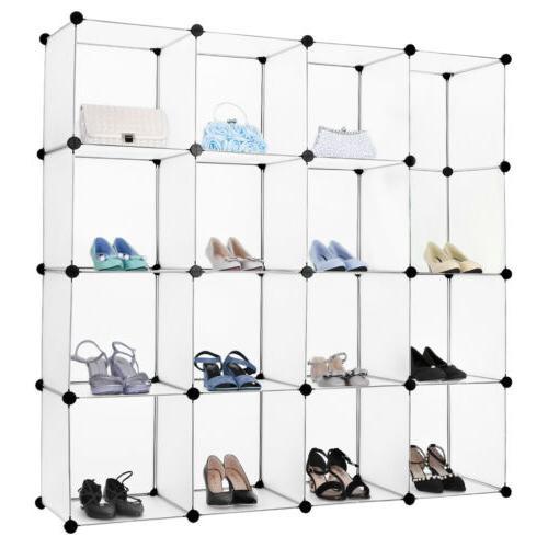 """86"""" Portable Closet Organizer Shelf Rack"""