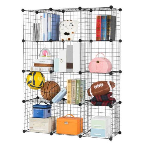 """86"""" Closet Organizer Rack Shelves"""