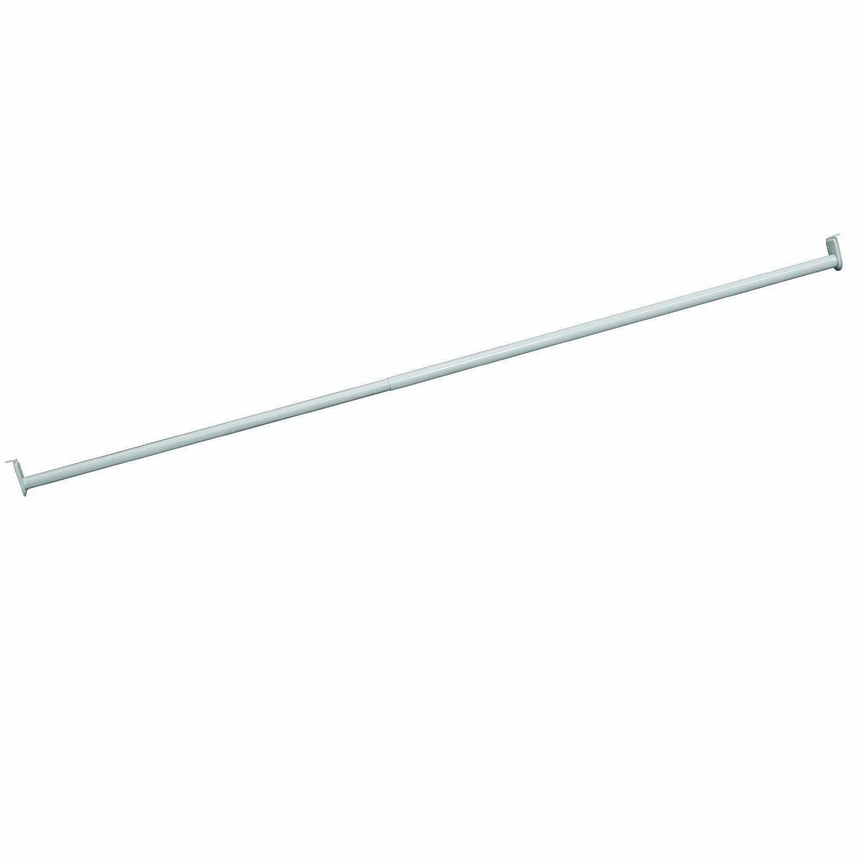 Adjustable Closet Rod, 72 - 120 W