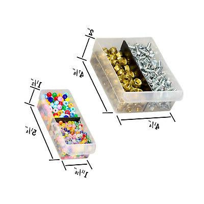 Cabinet Divider Storage Compartment Plastic Organizer Closet 26-